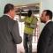 د . محمد هيثم يتفقد العيادة الذهبية المجمعة بزاوية الدهماني