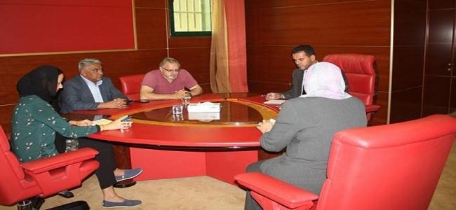 الوكيل يجتمع مع رئيس مكتب اللجنة الدولية للإغاثة بليبيا