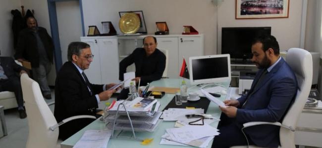 وكيل وزارة الصحة يزور مستفى طرابلس الجامعي