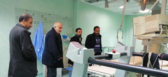 تفعيل وحدة القسطرة القلبية بمستشفى الزاوية